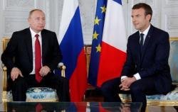 Путин и Макрон в ходе видеоконференции обсудят вопросы безопасности