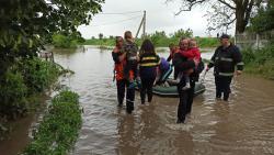 Более полутысячи домов в западных областях Украины подтоплены в результате паводка