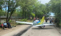Крушение самолета в Одессе