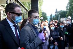 Суд отказал адвокату Стерненко в удовлетворении ходатайства об отводе судьи