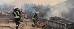 Полиция рассматривает три основные версии возникновения пожара в Луганской области
