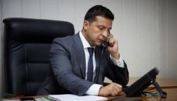 Владимир Зеленский провел телефонный разговор с директором-распорядителем МВФ