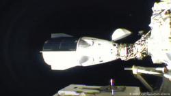 Американский пилотируемый корабль Crew Dragon состыковался с МКС