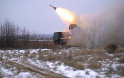В Украине испытали новую РСЗО Буревий