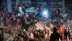 Число жертв землетрясения в Эгейском море выросло до 64 человек