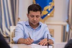 Зеленский подписал закон о продлении особого статуса Донбасса
