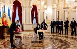 Президенты Украины и Молдовы подписали двусторонние документы