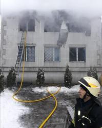 Два человека погибли при пожаре в частном доме в Подольске