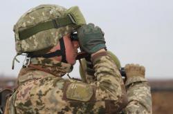 В Донбассе за сутки боевики восемь раз открывали огонь по бойцам ВСУ