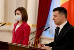 Владимир Зеленский и Майя Санду договорились о решении вопросов двусторонней повестки дня