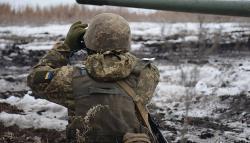 На Донбассе оккупанты пять раз нарушали режим тишины – штаб ООС